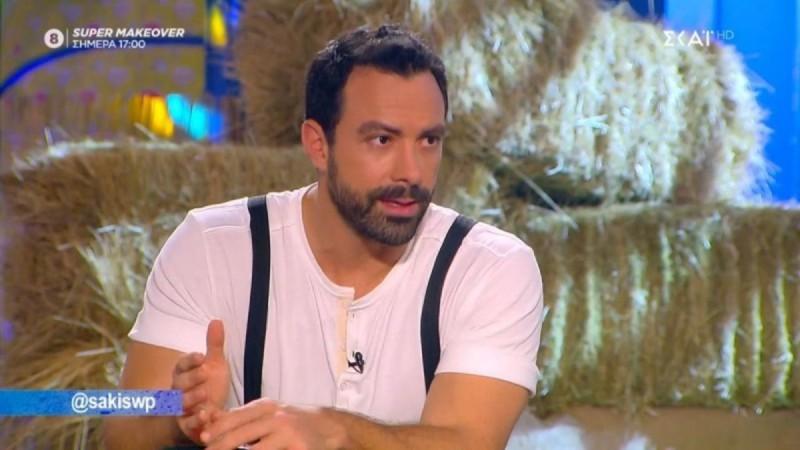 Σάκης Τανιμανίδης: «Το πιο δύσκολο ήταν να σταματήσω το Survivor» (Video)