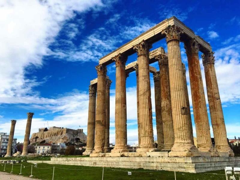 Στήλες του Ολυμπίου Διός