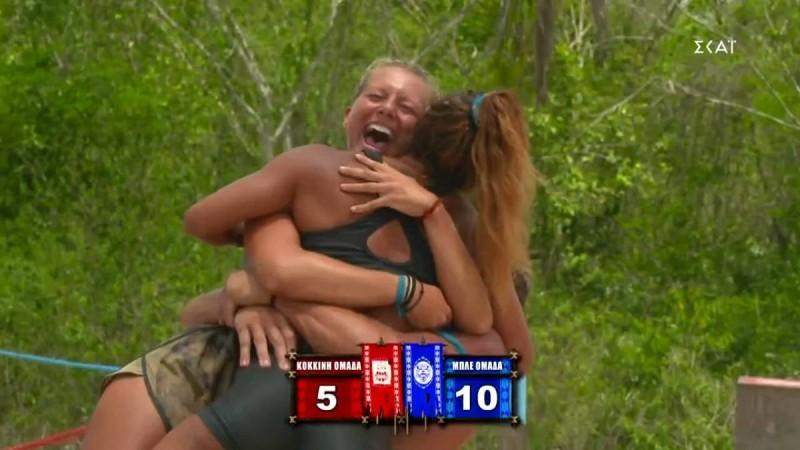 Survivor 4: Ο Τριαντάφυλλος που αποφασίζει πότε θα παίζει, η «παντόφλα» της Μαριαλένας στον Σάκη και η επική «μπλε» νίκη