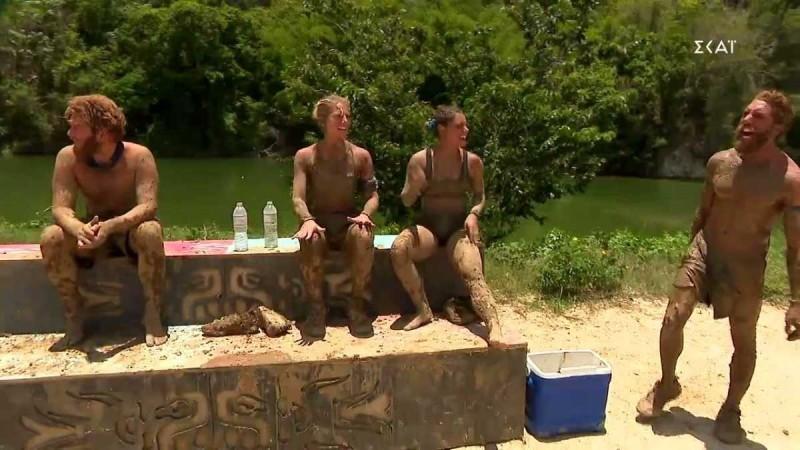 Survivor 4: Τρελάθηκε ο «Κόρο» - Άρχισε να ουρλιάζει στο αγώνισμα