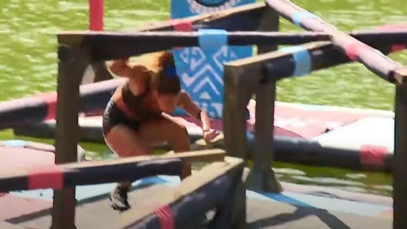 Survivor αγώνισμα Μαριαλένα Ρουμελιώτη