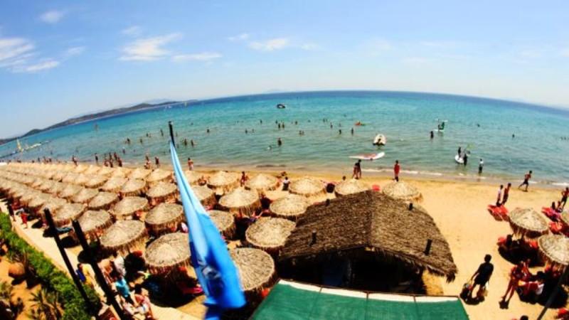 Η παραλία του Σχινιά