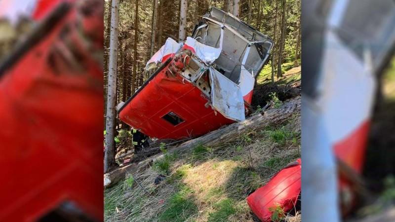 Τραγωδία στην Ιταλία: Τουλάχιστον εννέα νεκροί από πτώση καμπίνας τελεφερίκ
