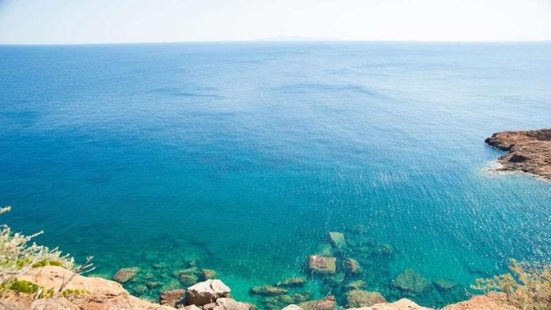 Η παραλία θυμάρι στην Αττική
