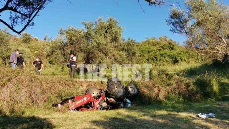Σοκ στην Πάτρα: 47χρονος καταπλακώθηκε από τρακτέρ και πέθανε