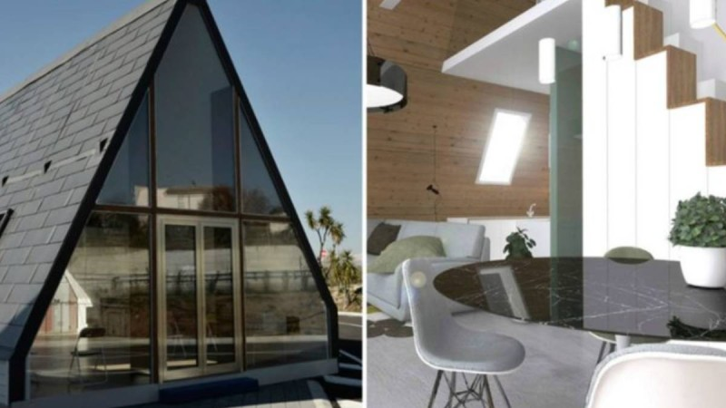 Χτίζεται μέσα σε 6 ώρες, κοστίζει μόλις 27.000 ευρώ και το εσωτερικό του θα σας μαγέψει!