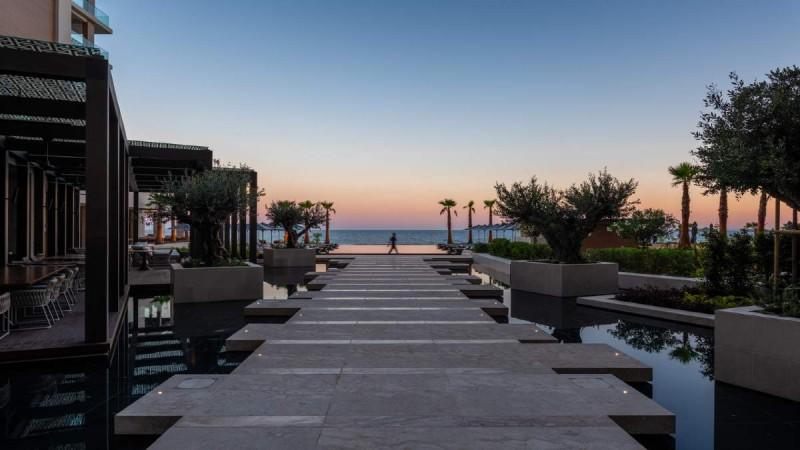 Στο υπερπολυτελές ξενοδοχείοAMARAγια ολιγοήμερες διακοπές η Σούλα Λιάκου