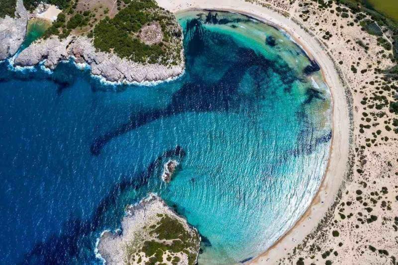 Βοϊδοκοιλιά παραλία Πελοπόννησος