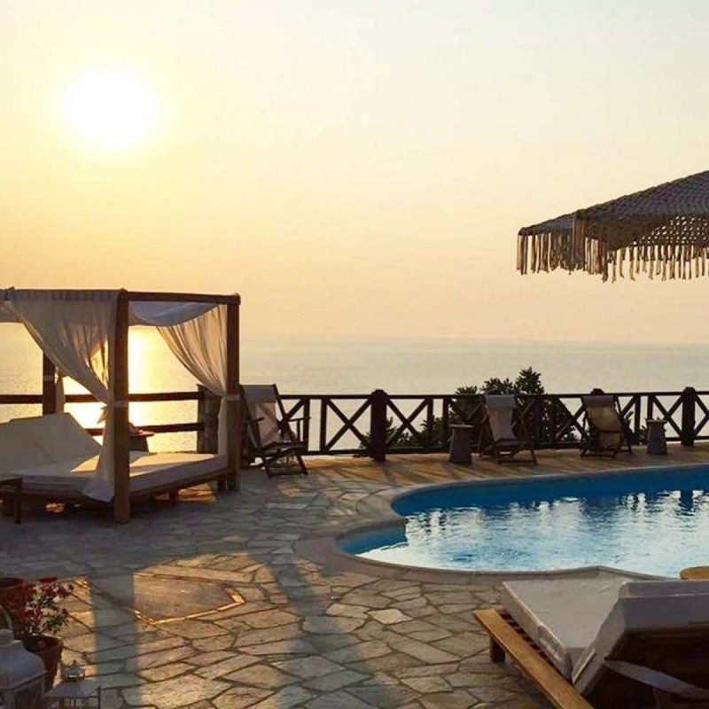 Agapitos Villas & Guesthouses ηλιοβασίλεμα