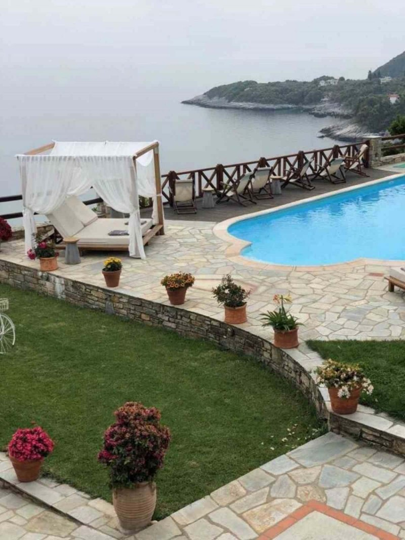 Agapitos Villas & Guesthouses πισίνα θέα