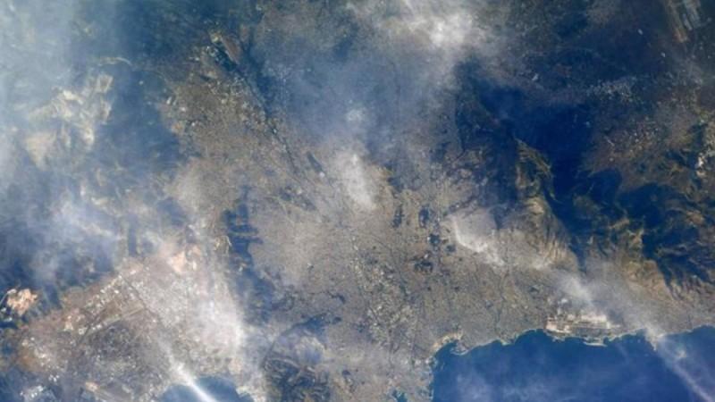 Η Αθήνα από το διάστημα: Η φωτογραφία αστροναύτη της NASA