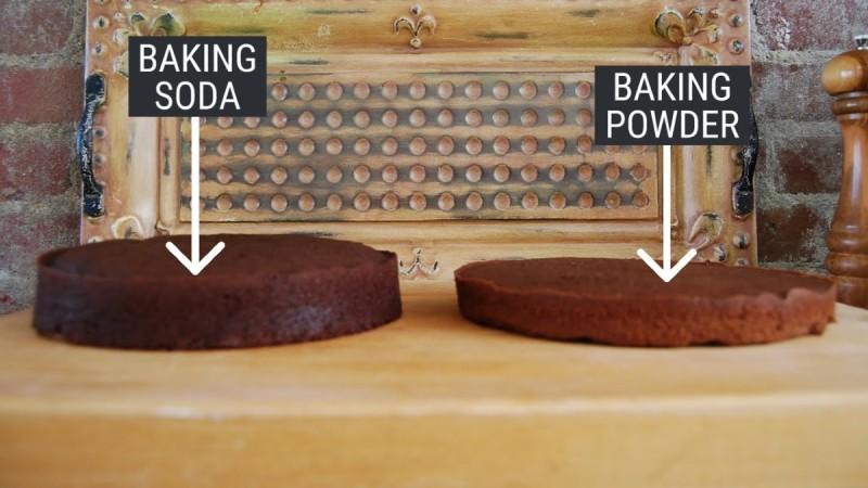 Σε τι διαφέρει το baking powder από τη μαγειρική σόδα