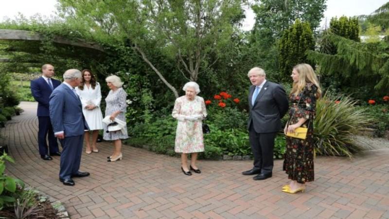 Η πρώτη δημόσια εκδήλωση για τη Βασίλισσα Ελισάβετ μετά τον θάνατο του συζύγου της