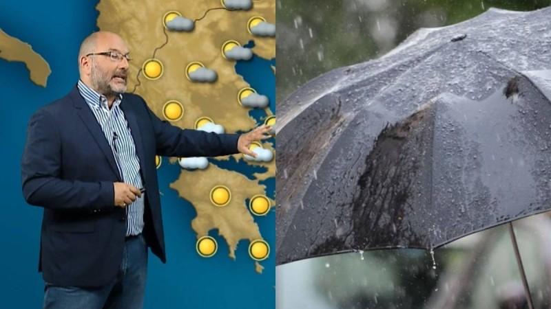 Καιρός: Συνεχίζεται η αστάθεια με βροχές και καταιγίδες - Ο Σάκης Αρναούτογλου μας προειδοποιεί πότε να πάμε στην παραλία