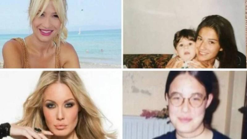 11+1 διάσημες Ελληνίδες που ήταν αγνώριστες στην εφηβεία τους