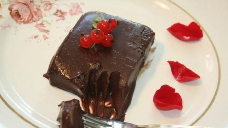 Σοκολατένιο γλυκό ψυγείου