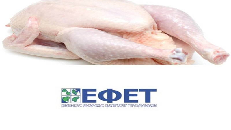 Έκτακτη ανακοίνωση ΕΦΕΤ: Μολυσμένο κοτόπουλο στα σούπερ μάρκετ!