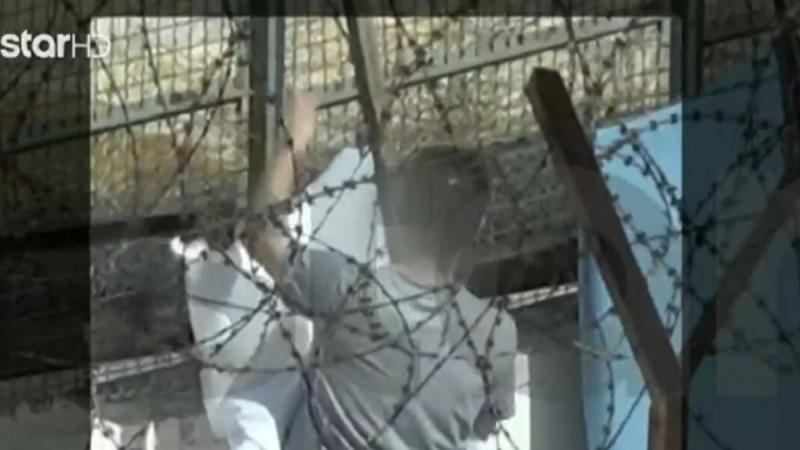 Φωτογραφίες-ντοκουμέντο με τον Μπάμπη Αναγνωστόπουλο μέσα από τις φυλακές Κορυδαλλού