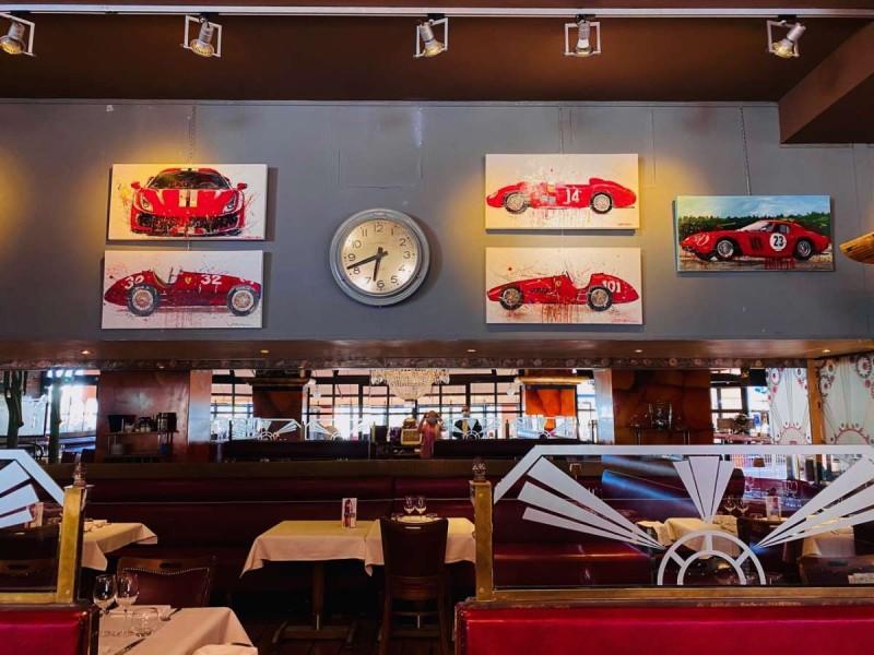 Η έκθεση Ferrari της Ιωάννας Ευθυμίου