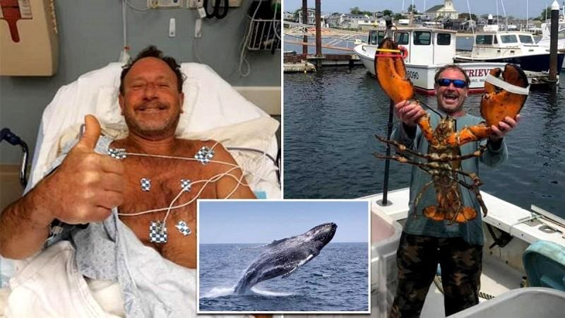 Φάλαινα κατάπιε και ξέρασε άντρα, ο οποίος κατάφερε και επέζησε! (video)