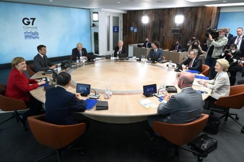 Οι G7 βάζουν φρένο στην Κίνα και τον αθέμιτο ανταγωνισμό - Δωρέα 1 δισ. εμβολίων σε φτωχές χώρες του πλανήτη
