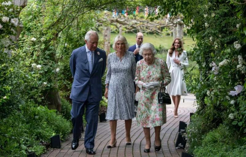 Η βασίλισσα Ελισάβετ παρέθεσε δεξίωση