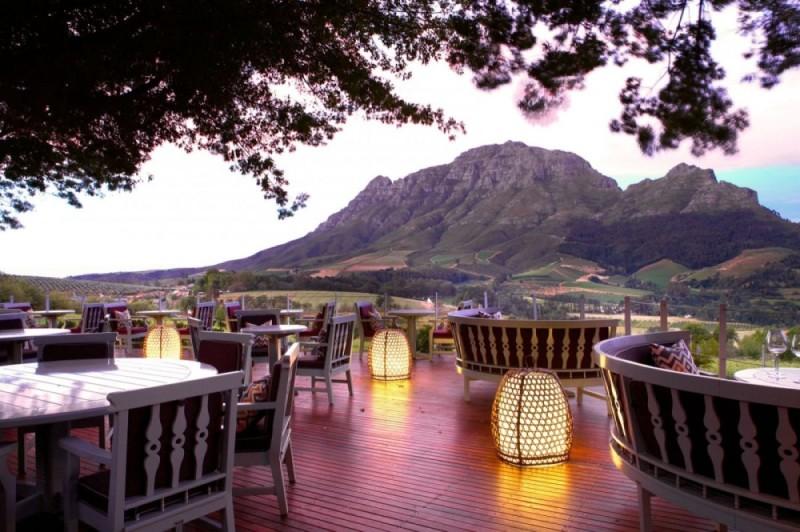 Εστιατόριο Delaire Graff, Stellenbosch, Νότια Αφρική