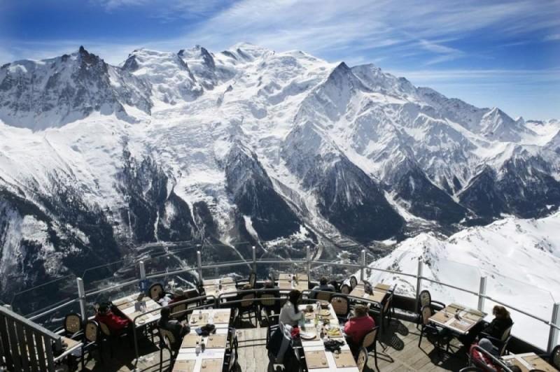 Εστιατόριο Le Panoramic, Chamonix, Γαλλία