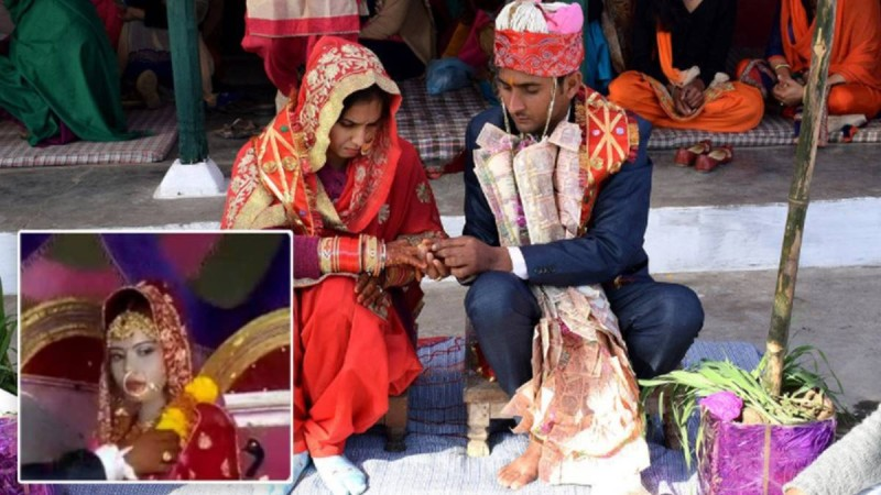 Ινδία: Νύφη πέθανε από καρδιά την ώρα του γάμου και ο γαμπρός παντρεύτηκε την αδελφή της!