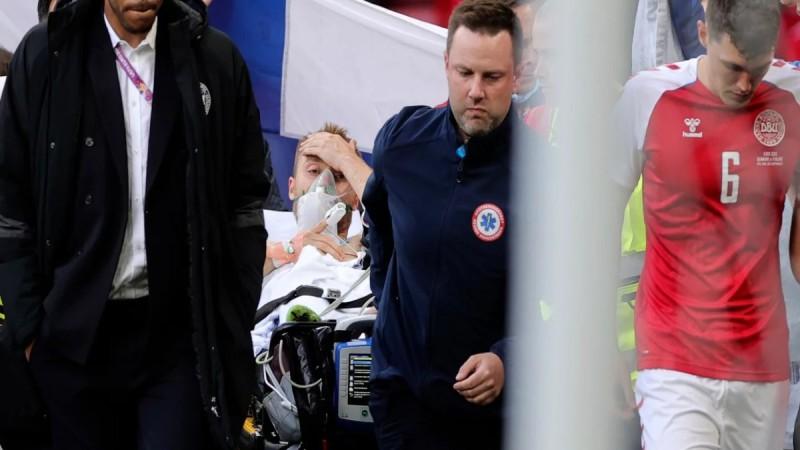 Έρικσεν - UEFA: Στο νοσοκομείο και σε σταθερή κατάσταση η υγεία του ποδοσφαιριστή - Ανέκτησε τις αισθήσεις του