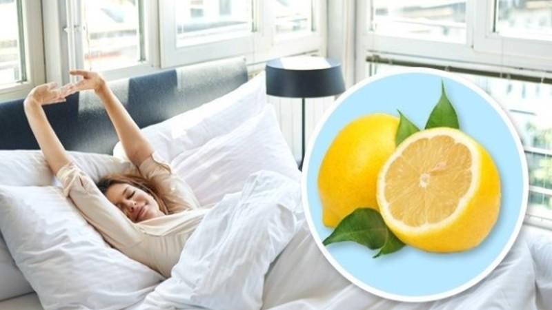 Να τι θα συμβεί εάν βάλετε ένα κομμένο λεμόνι δίπλα σας πριν κοιμηθείτε
