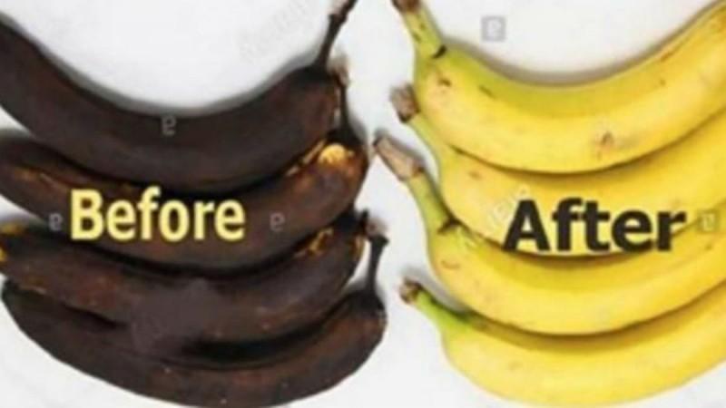 Μην πετάτε τις μαυρισμένες μπανάνες - Μάθετε πώς μπορείτε να τις επαναφέρετε (Video)