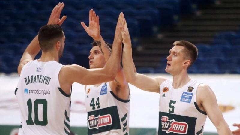 Basket League: «Υπερηχητικός» Παναθηναϊκός ένα βήμα από τον τίτλο