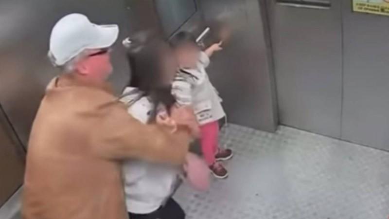 Βίντεο σοκ: Σεξουαλική παρενόχληση 54χρονου σε 13χρονη μέσα σε ασανσέρ