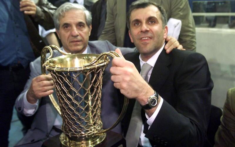 Παύλος Γιαννακόπουλος και Ζέλικο Ομπράντοβιτς