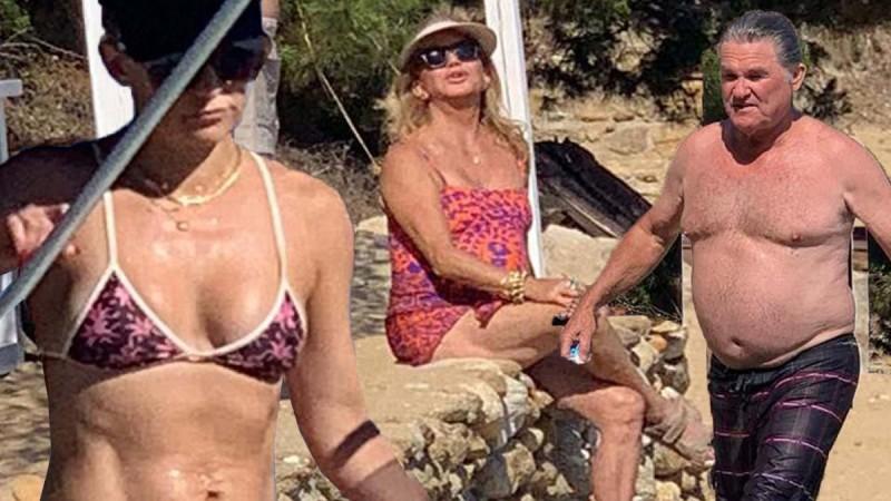 Η Κέιτ Χάντσον ξανά στη Σκιάθο με την οικογένειά της - Μαζί και η διάσημη μαμά της Γκόλντι Χον