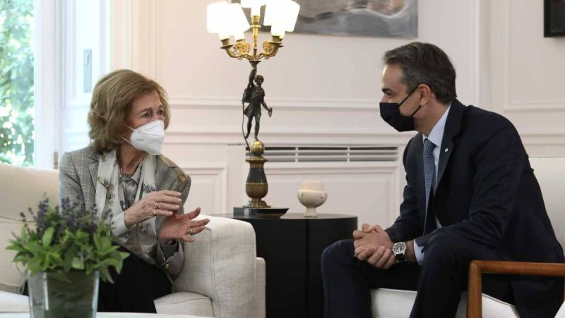Βασίλισσα Σοφία σε Μητσοτάκη: «Είστε ο καλύτερος πρωθυπουργός που είχε ποτέ η Ελλάδα»
