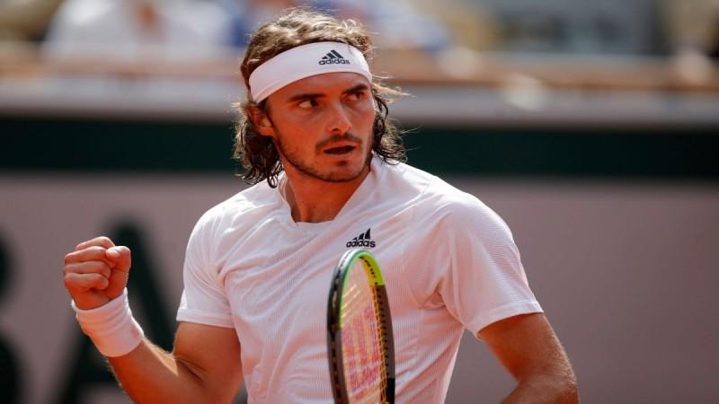 Στα ημιτελικά του Roland Garros ο Τσιτσιπάς - Για 2η σερί χρονιά