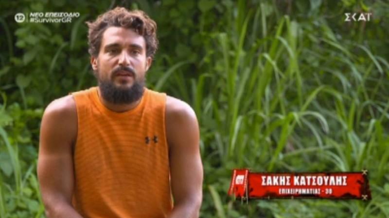 Survivor 4: «Μπηχτές» Σάκη για Ασημακόπουλο - «Πολλά νεύρα έχεις...»
