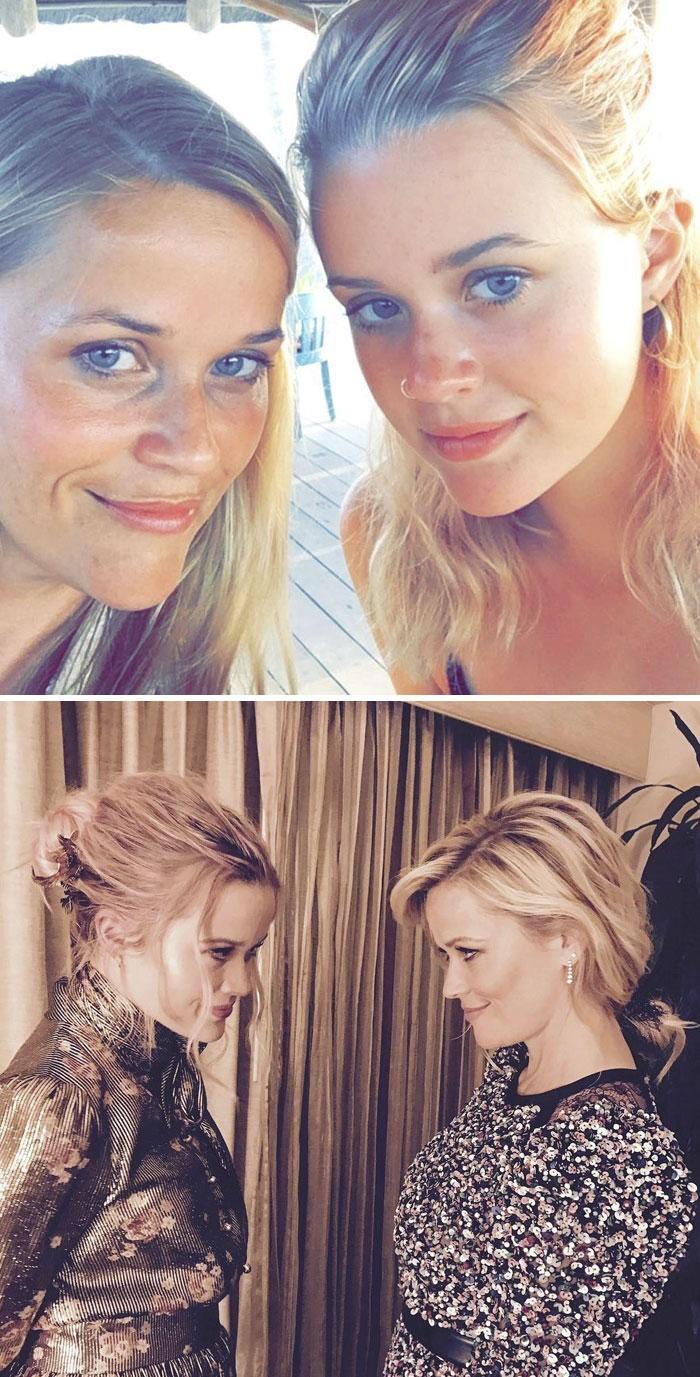 0 Τρομερές εικόνες από μαμάδες και κόρες που μοιάζουν να έχουν ακριβώς την ίδια ηλικία