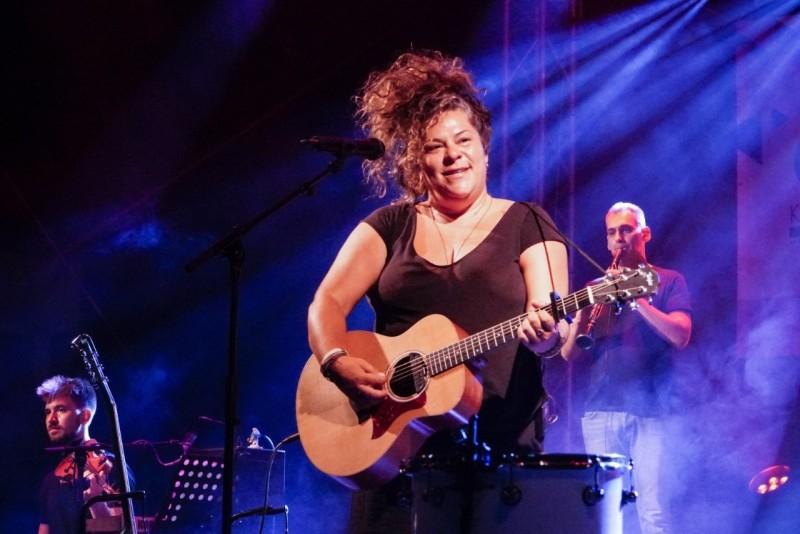 Μουσική γιορτή η συναυλία της Ματούλας Ζαμάνη