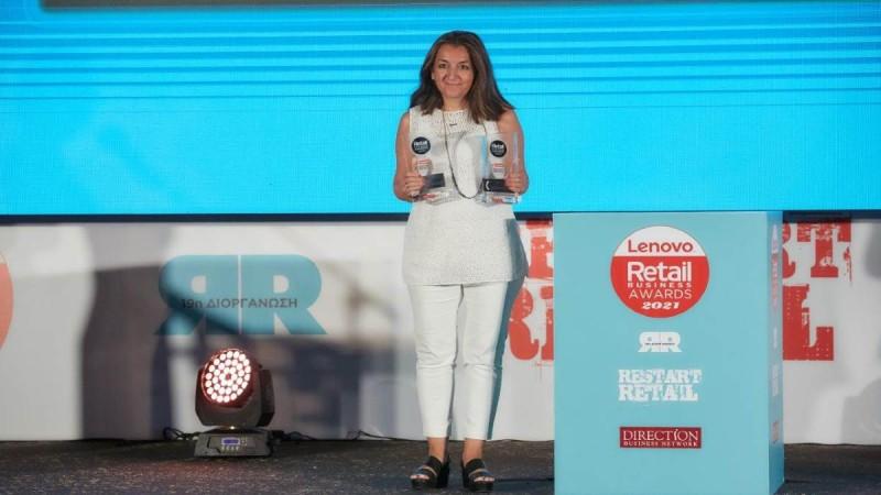 Διπλή διάκριση για την εταιρεία ΜΠΑΡΜΠΑ ΣΤΑΘΗΣ στα Retail Business Awards 2021