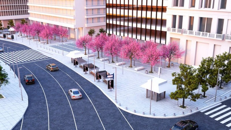Αλλάζει το κέντρο της Αθήνας: Αυτή θα είναι η τελική μορφή της πλατείας Συντάγματος (photos)