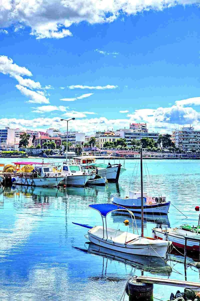 Χαλκίδα λιμάνι