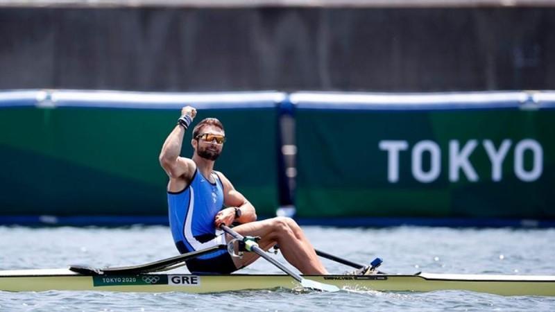 Η φωτογραφία της ημέρας: Χρυσός Ολυμπιονίκης ο Στέφανος Ντούσκος!
