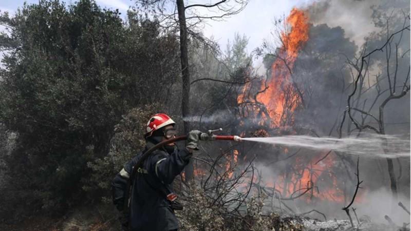 Νέα μεγάλη φωτιά στην Κρήτη - Σε πύρινο κλοιό ξανά η Ελλάδα