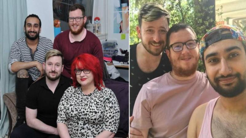 Μητέρα αποδέχθηκε την σχέση του γιου της με 2 άντρες και λέει πως είναι μια περήφανη πεθερά