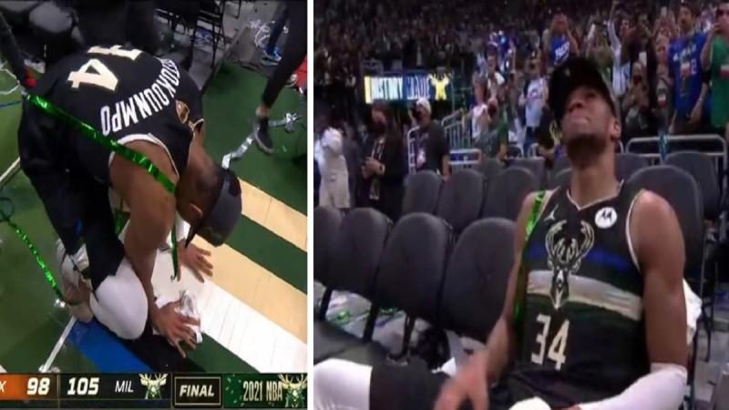 Ο Γιάννης Αντετοκούνμπο αναδείχθηκε MVP των τελικών του ΝΒΑ - Τα δάκρυά του και τα πρώτα λόγια του «Greek Freak» (Video)