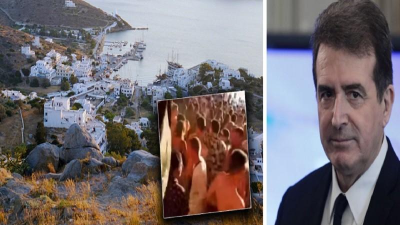 «Καμπανάκι» Μιχάλη Χρυσοχοΐδη: «Ορατός ο κίνδυνος lockdown στην Ίο» - Τα 9 νησιά που κινδυνεύουν να «κλειδωθούν»