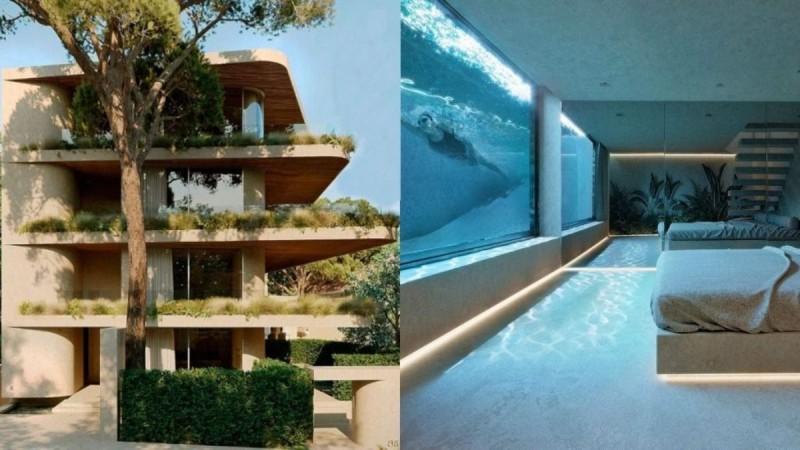 Eντυπωσιακό σπίτι στην Κηφισιά: Έχει συγκλονιστική πισίνα στην κρεβατοκάμαρα!
